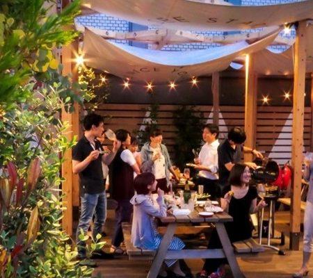 ARK BLUE CAFE 屋上バーベキュー 2019