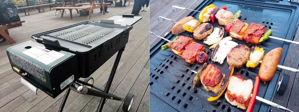 BBQ焼き台