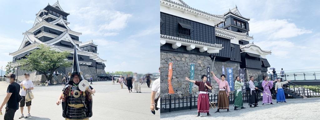 熊本城とおもてなし隊